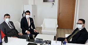 Vali Mustafa Çiftçi'den BİK'e ziyaret