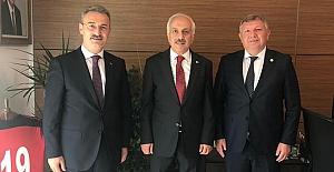 Başkan Gelgör'den Zeki Gül'e ziyaret
