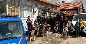Jandarma İsahacı'da KADES'i anlattı