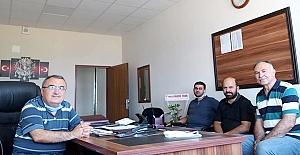Halim Arslan ve Ali Altuntaş'a hayırlı olsun ziyareti
