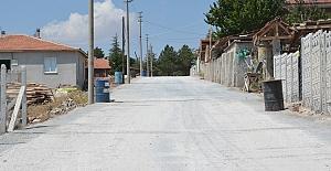Kilitli parke taşı 2021 ilk etabı tamamlandı, sıra 2. etapta