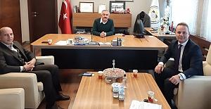 Mesut Öztürk'ten Başkan Şaltu'ya ziyaret