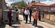 İncirli Sokak'ta altyapı çalışması