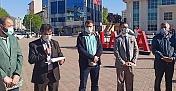 Alaca'da İsrail protesto edildi